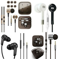For iPhone Samsung xiaomi 3.5mm Piston InEar Stereo Earphone Headset Headphone