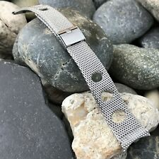 rare Duchess Stainless Steel Rally Mesh nos 19mm Vintage Watch Band