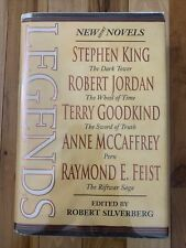 Silverberg - LEGENDS  1st Edition - Stephen King George RR Martin Anne McCaffrey
