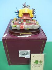 WDCC Enchanted Places WHITE RABBIT'S HOUSE - Alice In Wonderland MIB