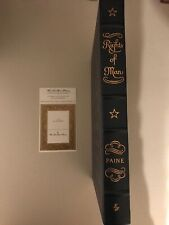 Easton Press Rights Of Man Thomas Paine Like New Used