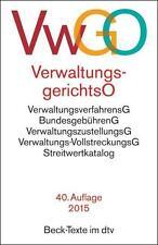 Verwaltungsgerichtsordnung, Verwaltungsverfahrensgesetz (1976, Taschenbuch)