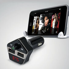 Bluetooth Wireless Hand-free FM Transmitter for Cell Phone iPhone iPod Samsung