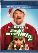 Jingle All the Way 2 (Blu-ray/DVD, 2014, 2-Disc Set)  Larry the Cable Guy   NEW