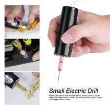 Elektro Mini Micro USB Drill Bohrmaschine Handbohrmaschine Handbohrer mit 3 Bits