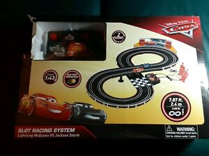 Disney Cars slot racing track system for parts