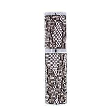 Black Lace Design Refillable Perfume Spray Atomizer ~ 5ml ~ Gift Box Option