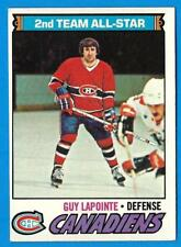 1977-78 Topps GUY LaPOINTE (ex-) Montreal Canadiens