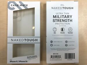 OEM Case-Mate Tough Clear Case for iPhone X / iPhone Xs