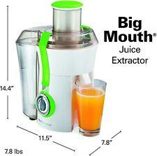 "Hamilton Beach  15"" Juice Extractor 800 WATT - BPA FREE -  24% MORE JUICE & MORE"