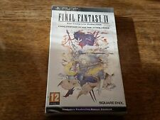 Final Fantasy IV 4 The Complete Collection Special Edition Sony PSP, 2011 New
