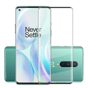 For OnePlus 8 / 5G Tempered Glass Screen Protector Full Coverage