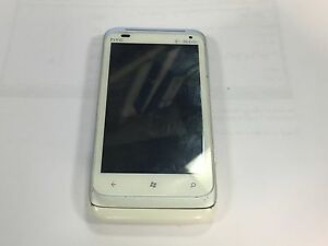 T-MOBILE HTC RADAR PI06110 WHITE 4G WINDOWS SMARTPHONE **NOT WORKING**