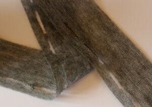 (0,25€/m)50m Vlieseline Bundfix Stanzband grau 10-45 mm aufbügelbar 4,5 cm breit