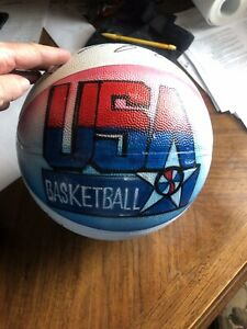 Autographed 92 Olympic Team Basketball