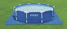 Bodenschutzplane 472 x 472 cm für Pool Schwimmbecken Intex Stahlwand