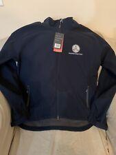 Softshell Astralian Stock Horse/ASH Jacket, Navy/Graphite Details, Large