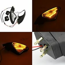View Side Mirrors Turn Signal Light For Ducati Motorcycle 1098R 1198 1198S 1198R