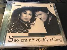 """Lang Van """"Sao em no voi lay chong"""" cd SEALED"""