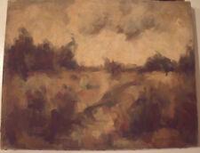 "FRANK CAMPANELLA AMER 1918-2016 SANDY HOOK NJ ""MARITIME FOREST"" OIL 1954 LISTED"