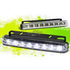 "UNIVERSAL 6.25"" 8 WHITE SMD LED DRL/FOG BUMPER SLIM LAMP/LIGHT BAR CAR/TRUCK/SUV"