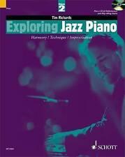 NEW Exploring Jazz Piano - Volume 2: Book/CD (The Schott Pop Styles Series)