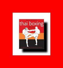 MARTIAL ARTS BOOK:BASICS OF THAI BOXING:OVER 40 TECHNIQUES+GRAPPLING+BLOCKS%MORE