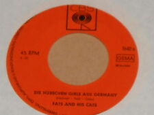 "FATS AND HIS CATS -Die hübschen Girls aus Germany- 7"" 45"
