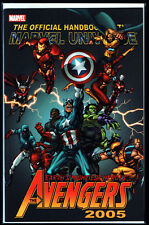 Official Handbook of the Marvel Universe Avengers 2005 Captain America NM+ NEU
