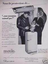 PUBLICITÉ 1952 FRIGIDAIRE HERMÉTIQUE ECOWATT MASTER 742 ET ROYAL - ADVERTISING