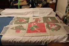 Christmas Color Rug Canvas Only