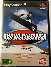 PlayStation 2 SHAUN PALMER'S Pro Snowboarder jeu video pour console Sony ps2