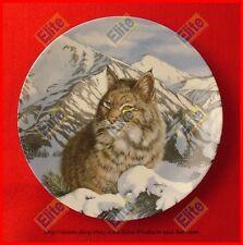 "Wild Spirits ""Quiet Vigil"" Collectors Plate - MIB+COA by Thomas Hirata WS George"