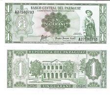 11801)  PARAGUAY 1 GUARANI DEL 1952 FDS UNC