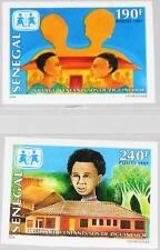 Sénégal 1998 1529-30 u 1298-99 imperf sos Children 's village partait MNH