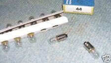 10 ampoules neuve pour flipper  #44    6,3V avec culot pinball