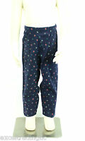 JACADI Girl's Adosser Navy Blue Floral Print Leggings Sz: 8 Years NWT $32