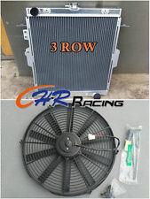 aluminum radiator for Toyota Landcruiser HDJ78 HDJ79 HZJ78 HZJ79 1HZ 4.2L+ FAN