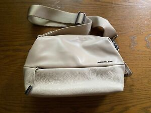 MANDARINA DUCK Athena Crossover Umhängetasche Tasche beige gebraucht, wie neu
