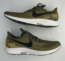 Nike Zoom Pegasus 35 Olive/Black Camo Running Mens Shoes AT9974-301 Size 10.5🔥