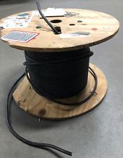 253 feet Belden 34406 #6 awg Hypalon Hook-up/Lead Wire 105ºC 300V Black 1C 6AWG