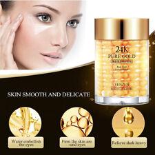 24K Gold Eye Gel Dark Circles Remove Anti-wrinkle Moisturizing Cream Collagen