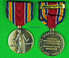 WWII Victory Medal - Full size made in USA - World War Two - WW2 - WWIIVM
