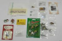Mixed Lot DOLLHOUSE MINIATURES Porcelain PEWTER Labels SLED Perfume Bottle MICE