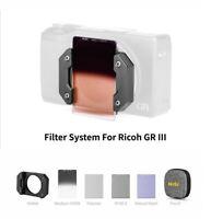 NiSi Filter System for Ricoh GR 3 gr3 gr iii camera (Professional Kit)