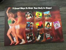 1979 Vintage 2 Pg Promo Print Ad For Casablanca Records Keep Your Body In Shape!
