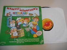LP Kinder Mainzelmännchen- Hitparade (14 Song) ARCADE + Poster