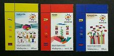 Malaysia Chairman Of ASEAN 2015 Flag Traditional Costume (stamp plate) MNH