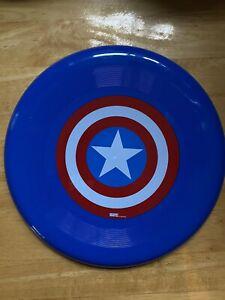 Marvel Avengers Captain America Shield Blue Frisbee Toy 9 Inch Branded New