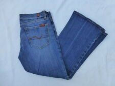 WOMENS 7 FOR ALL MANKIND BOOTCUT JEANS SIZE 31x24 #W103